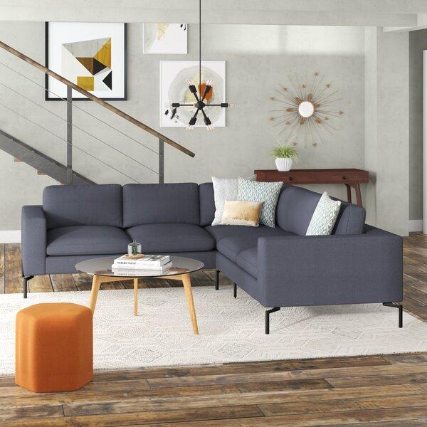 Modern & Contemporary Modern Retro Sectional Sofa | AllModern