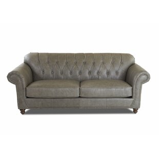 Cryal Leather Sofa