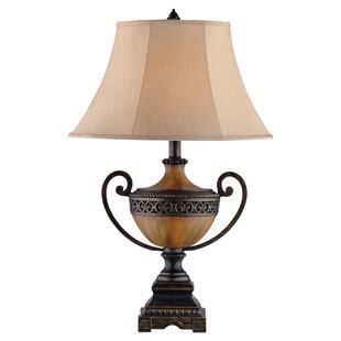 Okehampt Burnished Urn 32.5 Table Lamp