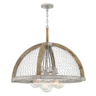 Heywood 7-Light GeometricChandelier by Hinkley Lighting