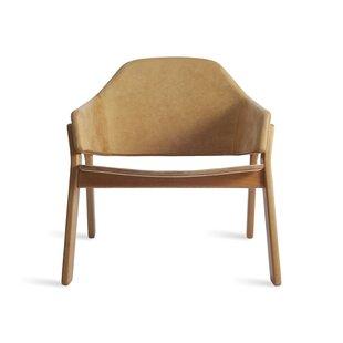 Blu Dot Clutch Leather Armchair