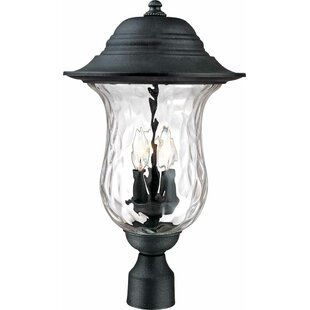 Volume Lighting Aurora Outdoor 3-Light Lantern Head