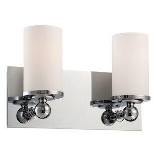 Latitude Run Ludlow 2-Light Vanity Light