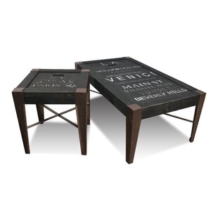 Sandie 2 Piece Coffee Table Set