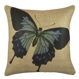 Erbe Burlap Throw Pillow