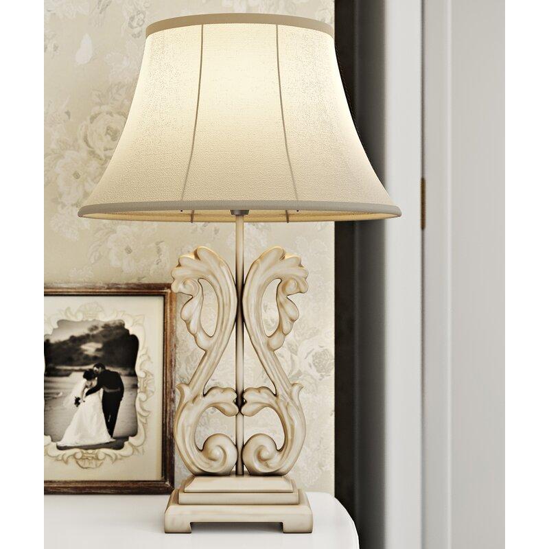 Lily manor liseron ornate 58 cm table lamp reviews wayfair liseron ornate 58 cm table lamp aloadofball Choice Image