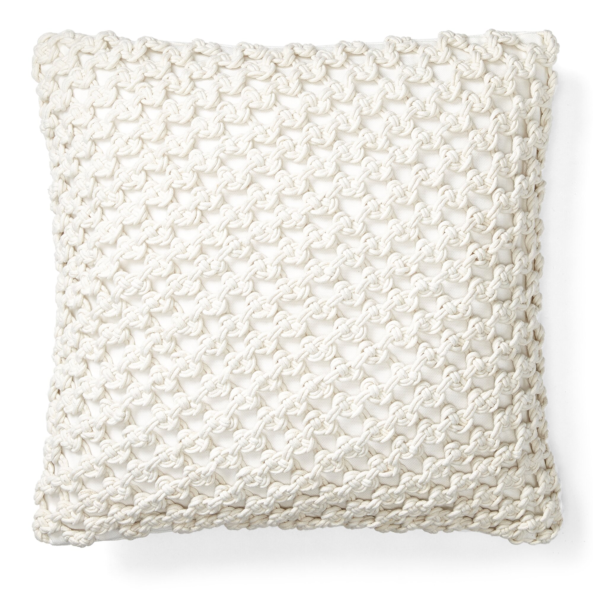 Lauren Ralph Lauren Casey Knot Cotton Throw Pillow Reviews Wayfair
