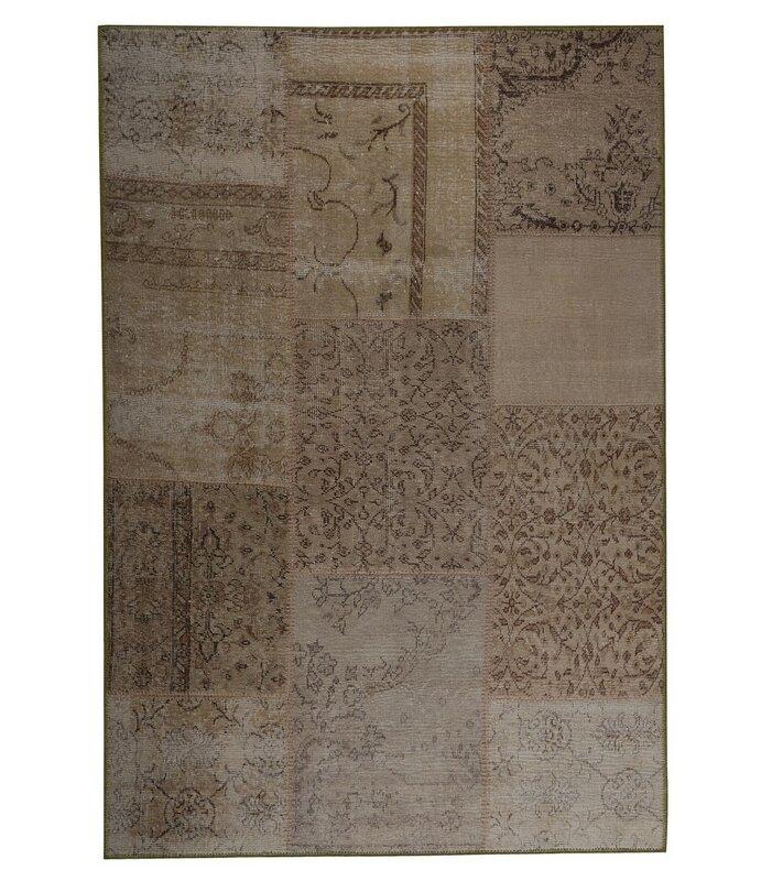 World Menagerie Racine Abstract Handmade Sand Rug Wayfair