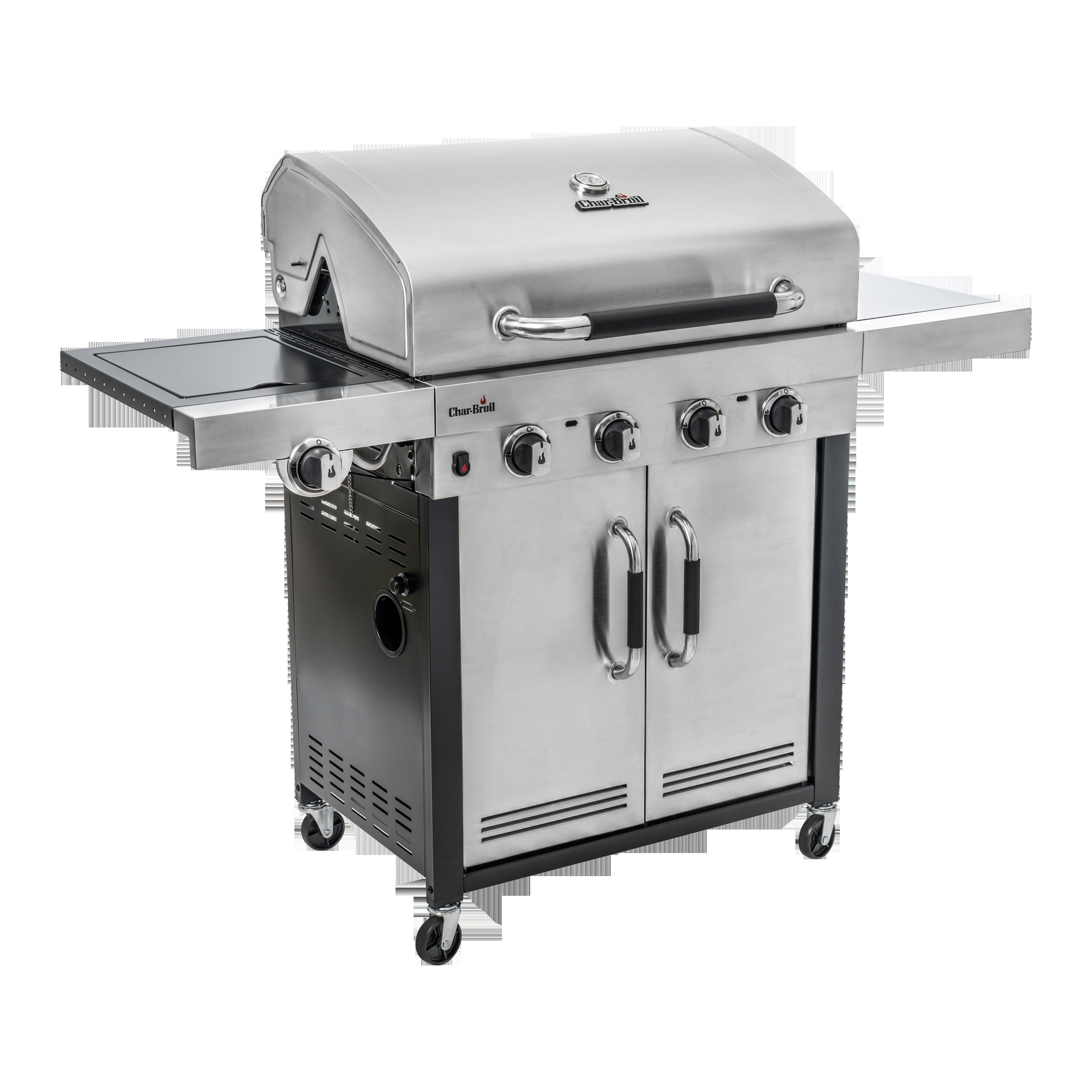 Char Broil Advantage Series 445s 4 Burner Gas Barbecue Grill With Tru Infrared Technology Stainless Steel Finish Reviews Wayfair Co Uk