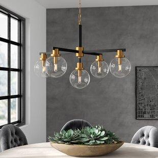 Greyleigh Waynesboro 5-Light Sputnik Chandelier