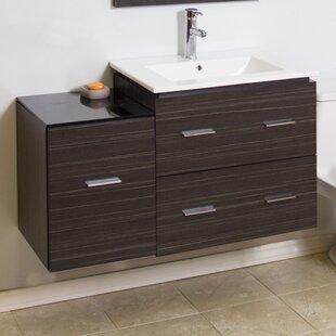 Modern 37 Single Bathroom Vanity Base Only by American Imaginations