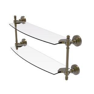 Retro Wave Wall Shelf by Allied Brass