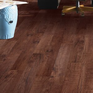 Prosperous Luxury Vinyl Plank In Chocolate Barnwood