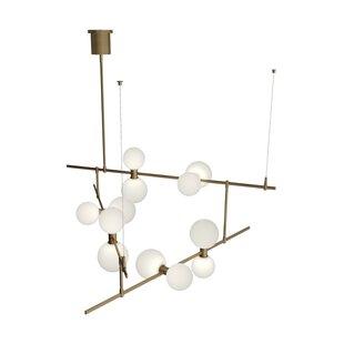 Brayden Studio Newt 12-Light LED Novelty Chandelier