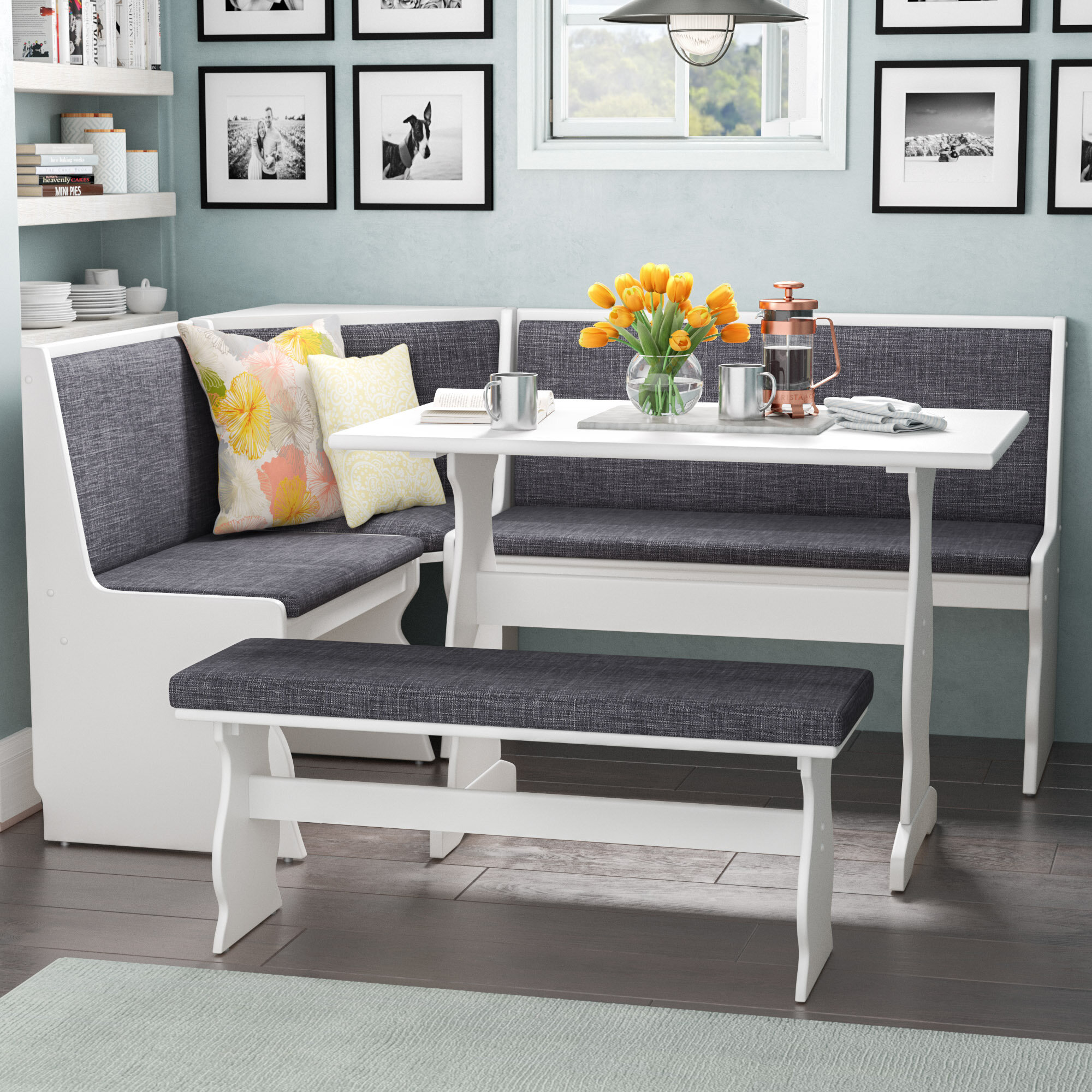 size 40 2c010 56113 Breakfast Nook Kitchen & Dining Room Sets You'll Love in ...