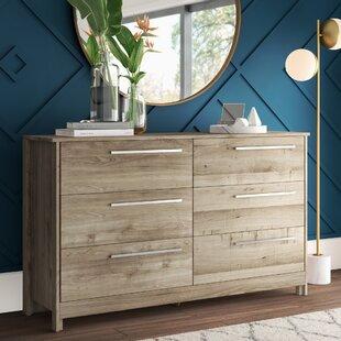 Wellow 6 Drawer Double Dresser by Mercury Row