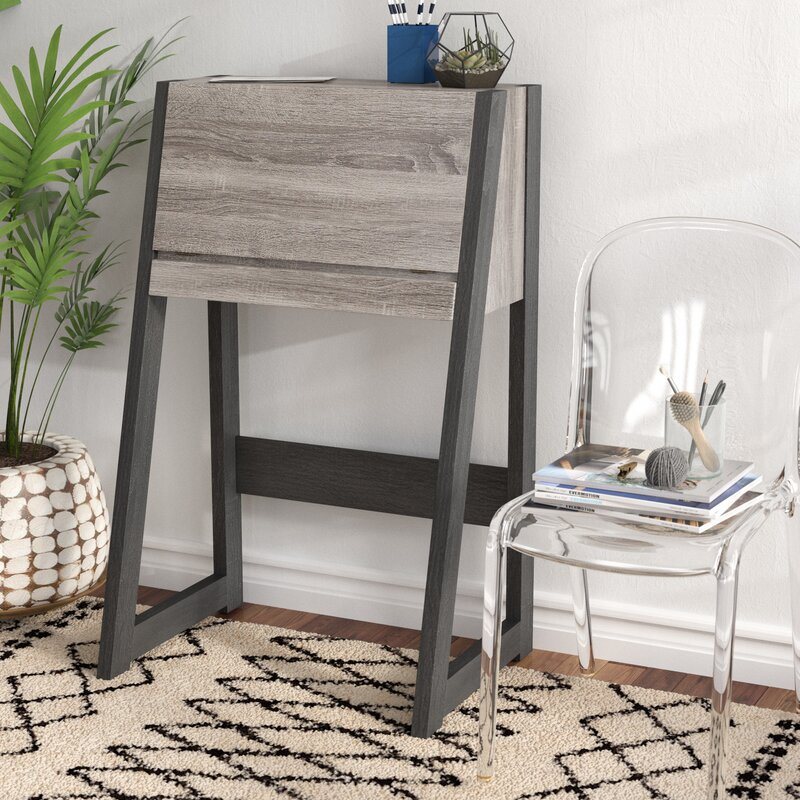ivy bronx corinna transitional leaning/ladder desk & reviews | wayfair Ladder Nightstand