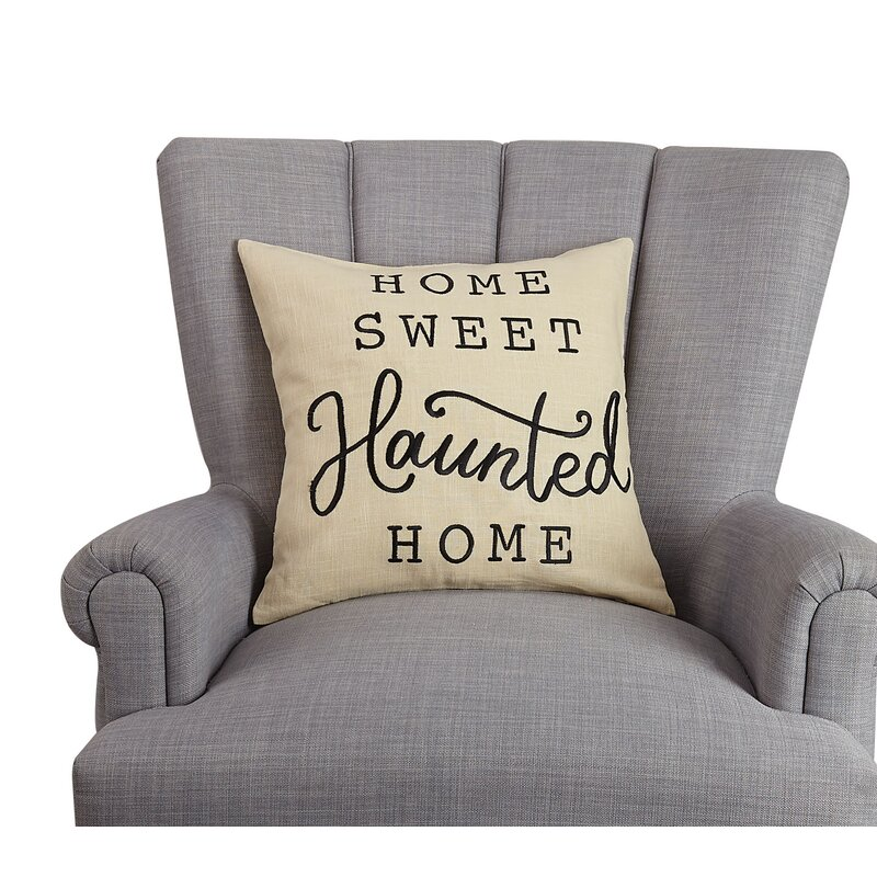 Home Sweet Haunted Home Pillow Online