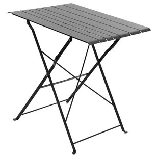 Nidavellir Folding Steel Bistro Table By Sol 72 Outdoor