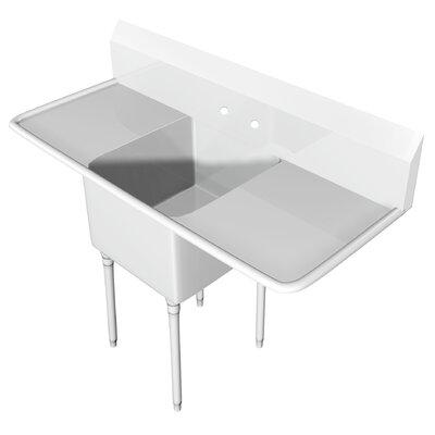 101 x 335 Free Standing Service Sink IMC Teddy