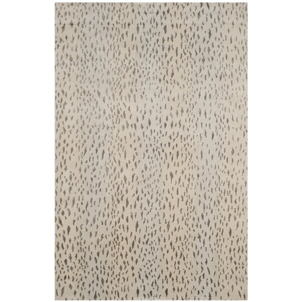 Mercer41 Stirling Hand Knotted Brown Area Rug Reviews Wayfair