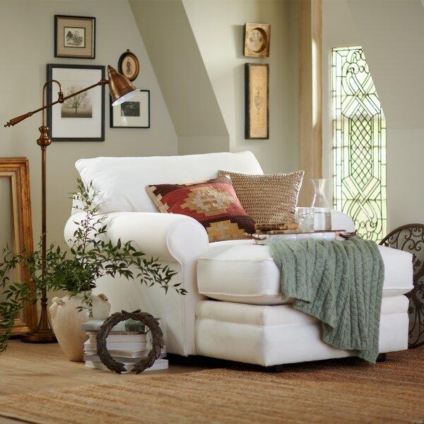 White Chaise Lounge   Wayfair