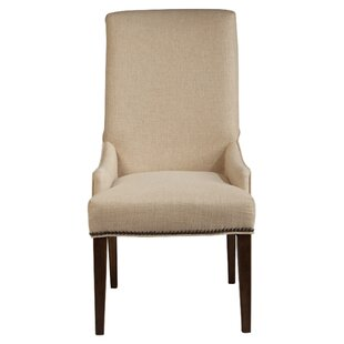 Cessna Warm Stained Upholstered Chairs (Set of 2)