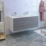 Senza Tuscany 60 Wall-Mounted Double Bathroom Vanity Set by Fresca