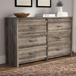 Gracie Oaks Donovan 6 Drawer Double Dresser