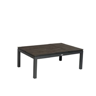 Dover Aluminium/Plastic Lounge Table By Sol 72 Outdoor