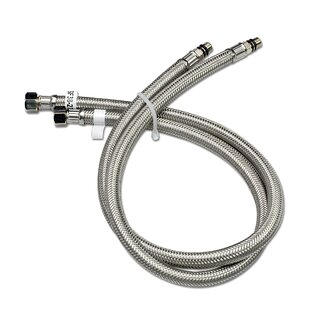 Luxier Vessel Sink Faucet Stainless Steel Flexible Water Supply Hose (Set ..