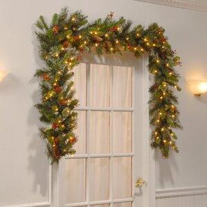 Christmas Garlands You'll Love | Wayfair