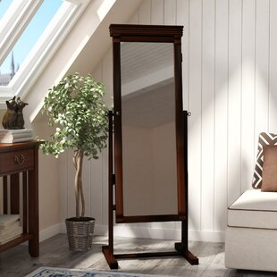 Andover Mills Rectangle Jewelry Armoire Cheval Mirror
