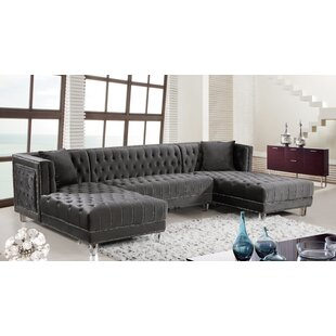 Astonishing Suzanne Symmetrical Sectional Gmtry Best Dining Table And Chair Ideas Images Gmtryco
