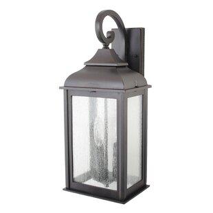 Fynn 3-Light Outdoor Wall Lantern by Alcott Hill