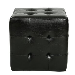 Veilleux Square Tufted Storage Ottoman by Winston Porter