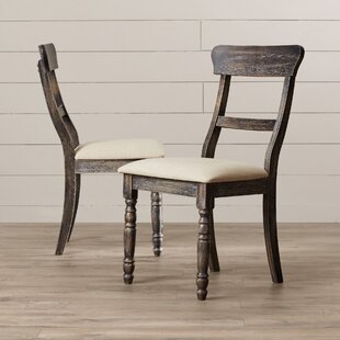 Sandown Upholstered Dining Chair (Set of 2) Three Posts