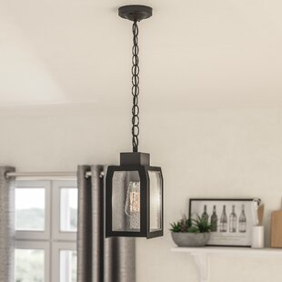Abram 1-Light Square/Rectangle Pendant by Williston Forge