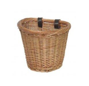 Oval Bike Willow Basket By Alpen Home