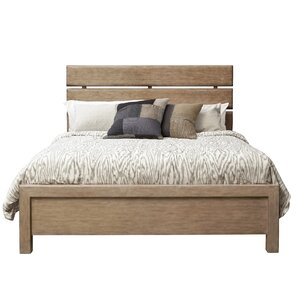 Fort Oglethorpe Plank Style Slat Bed by Laurel Foundry Modern Farmhouse
