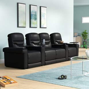 Leather Home Theater Configurable Seating ByOrren Ellis