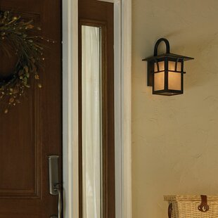 Darby Home Co Bush Creek LED Outdoor Wall Lantern