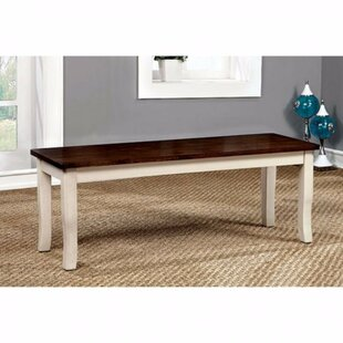 Adalbert Wood Dining Bench by Darby Home Co
