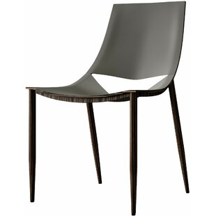 Sloane Upholstered Dining Chair by Modloft Black