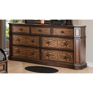 Ginsburg Eccentric 7 Drawer Double Dresser