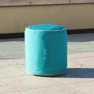 Halsey Outdoor Ottoman by Turn on the Brights