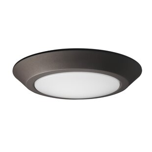 Orren Ellis Cardona 1-Light LED Flush Mount
