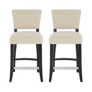 Fia 66cm Bar Stool (Set Of 2) By Ebern Designs