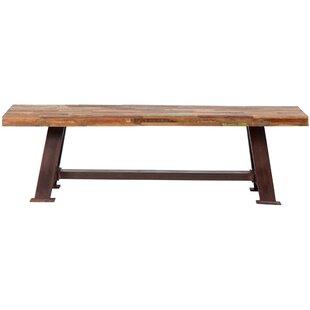 Porter International Designs Brooklyn Wood / Metal Bench