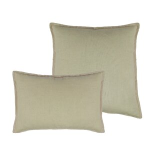 Lombard 2 Piece Reversible Linen Pillow Set